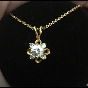Diamond CZ pendant